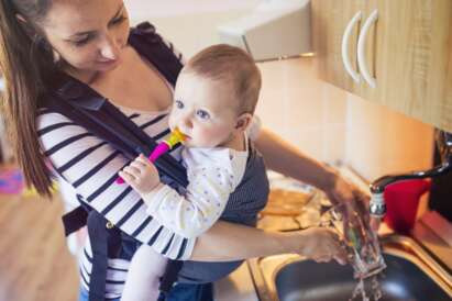 How to Babywear at Different Stages of Baby Growth